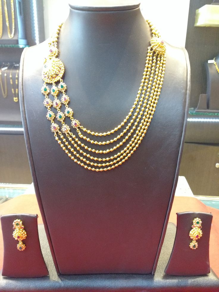 Londe Jewellers 2016 Collection  Exclusively Available at Showroom Weight - 60.640 gms Today's Gold Rate (22kt) - 29,090/-  Model no - 77 Making Charges - 12%  Vat - 1.2% Total Amount - 1,99,940/- As of 17th May 2016  #nagpurjewellers #goldinyou #londejewellers