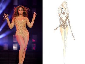 Style Pantry | Mrs. Carter Tour Costumes + Sketches