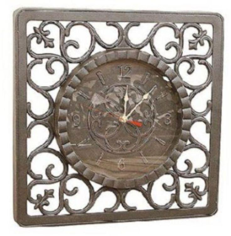 """Toscano Garden Clock - 17"""" #FourSeasons #Tuscan"""