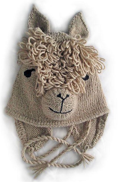 Ravelry: Alpaca Hat pattern by West Wight Alpacas - Anregung auch zum HÄKELN! :)