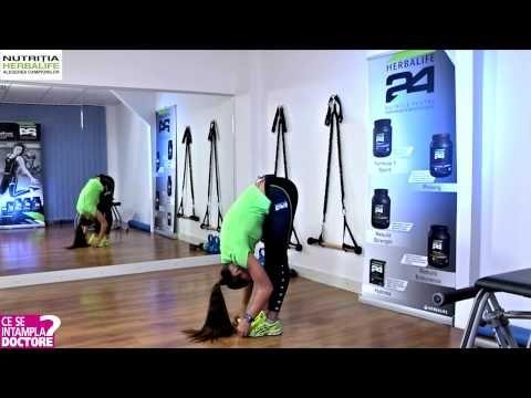 EXERCITII DE INCALZIRE & STRETCHING - YouTube