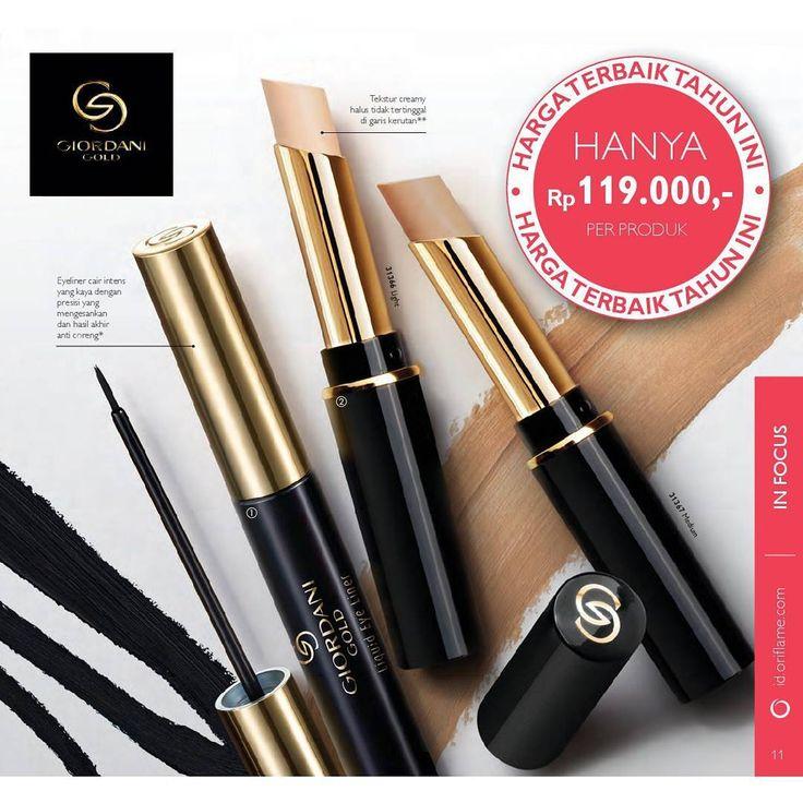 Buat riasan kamu tampak sempurna dengan Giordani Gold Secret Concealer yang bisa membantu menutupi ketidaksempurnaan pada wajah secara penuh (Full Coverage). Dan buat tampilan mata lebih dramatis dengan Giordani Gold Liquid Eye Liner. Sekarang, kamu siap tampil memukau! ;) #oriflame #oriflameproduct #promooriflame #promooriflamejuli2017 #concealer #promoconcealer #concealeroriflame #eyeliner #eyelineroriflame #sale #oriflameshopbali #oriflamebali…