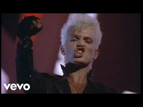 "Flesh For Fantasy by Billy Idol (1983) ""Do you like good music? Do you like to dance?"""