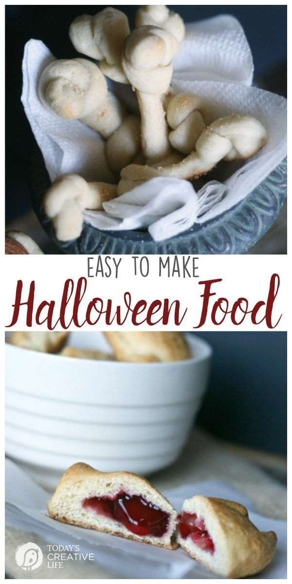 Halloween Food Ideas | Easy to make halloween party food ideas. Find easy…
