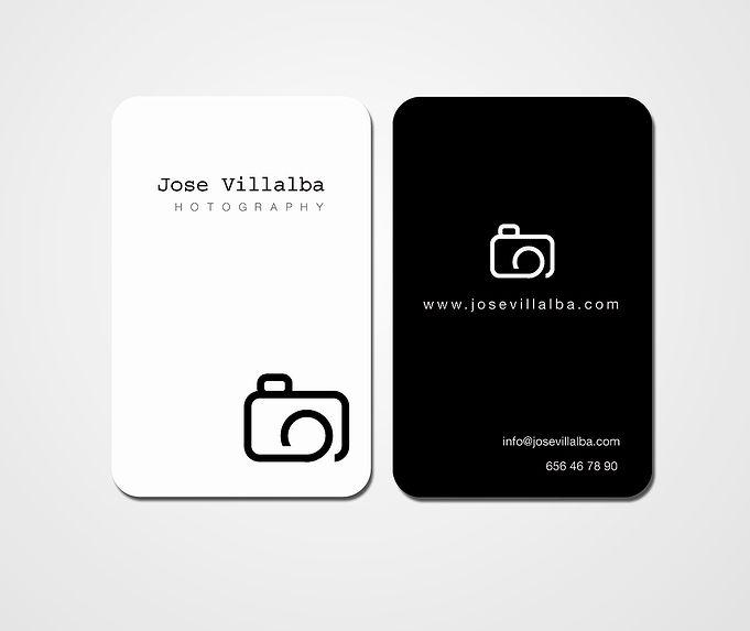 """Tarjeta visita """"Fotógrafos"""""""