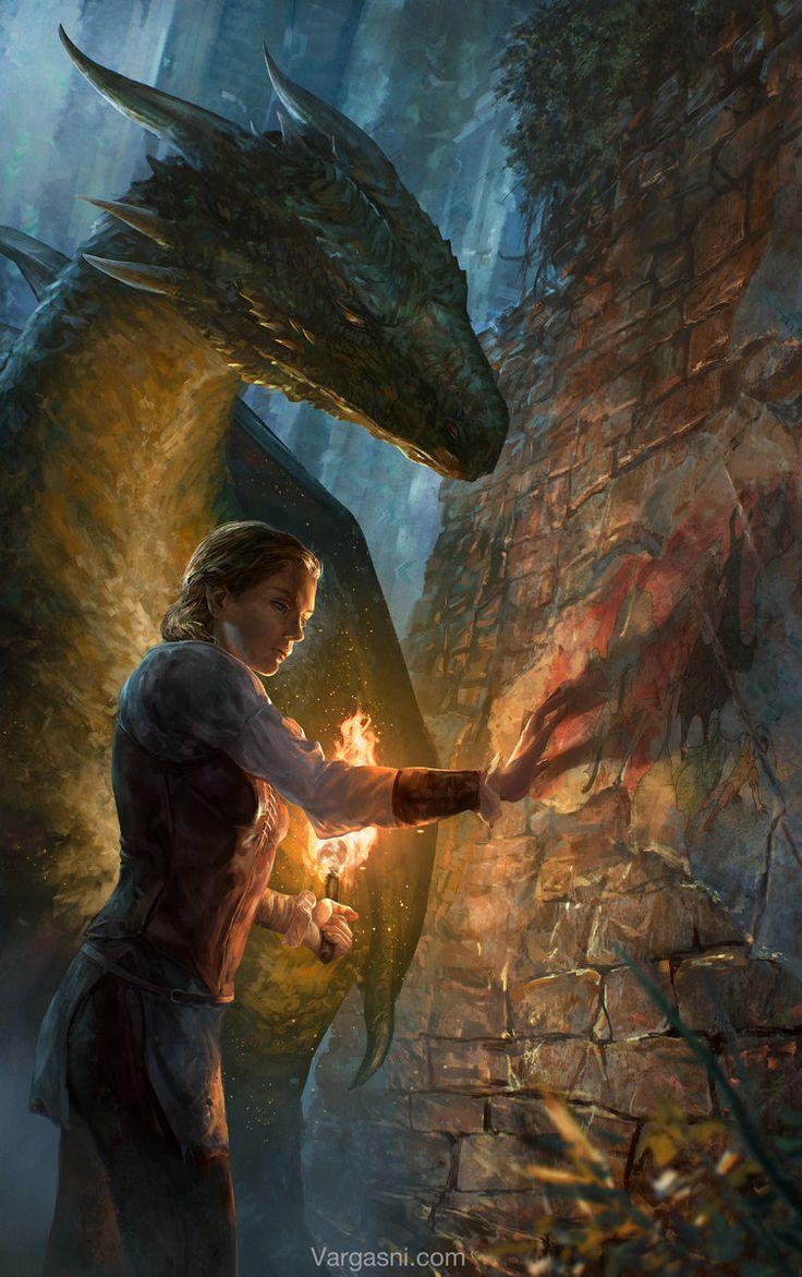 The Beginning _book cover, Randy Vargas (vargasni) on ArtStation at https://www.artstation.com/artwork/the-beginning-_book-cover
