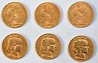 10 pièces 20 Francs OR Marianne Coq