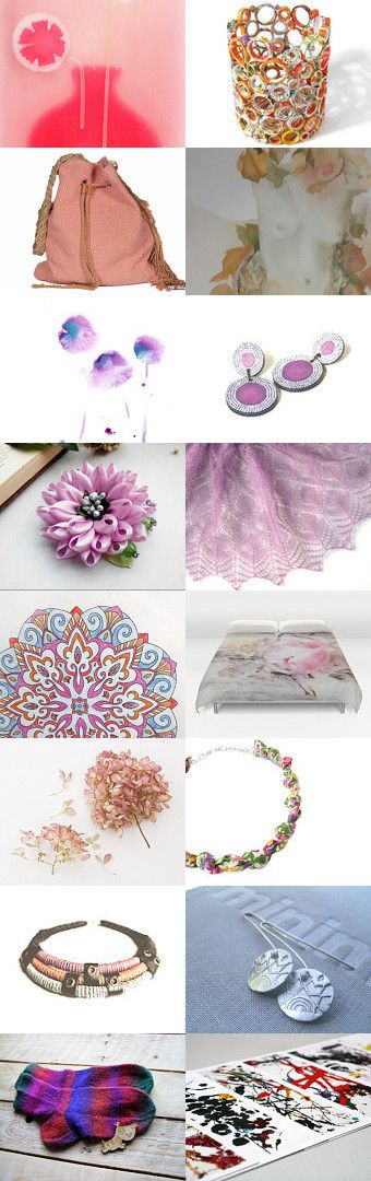 Rose Pinks by Alex McArthur on Etsy--Pinned+with+TreasuryPin.com
