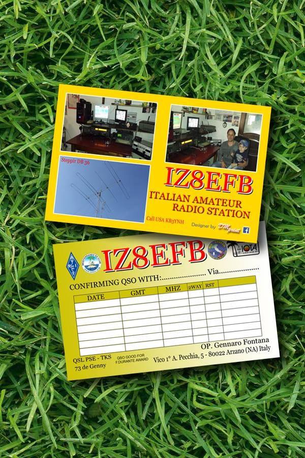2500 #Cartoline #QSL 9x14 cm a #Colori #Verniciatura #Opaca Fronte/Retro su #Carta 300 gr  #Foto, #RealizzazioneGrafica e #Stampa inclusa nel prezzo