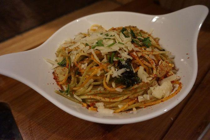 Rezept Spaghetti Aglio e Olio mit Zitrone a la Jamie Oliver