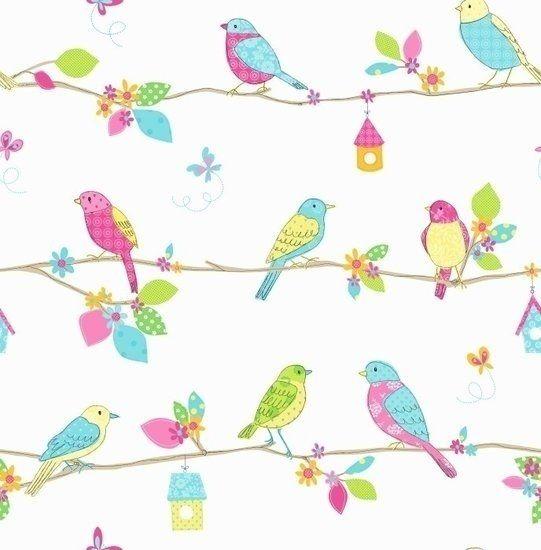 Met  Dutch Hoopla DL30702 Birds  maakt u uw kamer weer als nieuw. Dit duurzame créme, roze, blauw, geel, groen behang is gemakkelijk in gebruik. Het behang is in de toekomst weer gemakkelijk te ver...