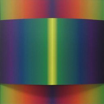Riflesso, 2014, tecnica mista su policarbonato, cm 50 x 50 Jorrit Tornquist - FerrarinArte - Spazio eventi 2015