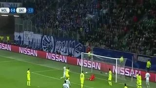 Wolfsburg vs Gent 1-0 all goals Champions League