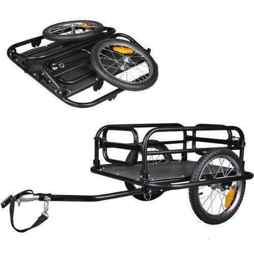 Veelar Foldable Bicycle Cargo Trailer Shopping/Utility Trailer. $124