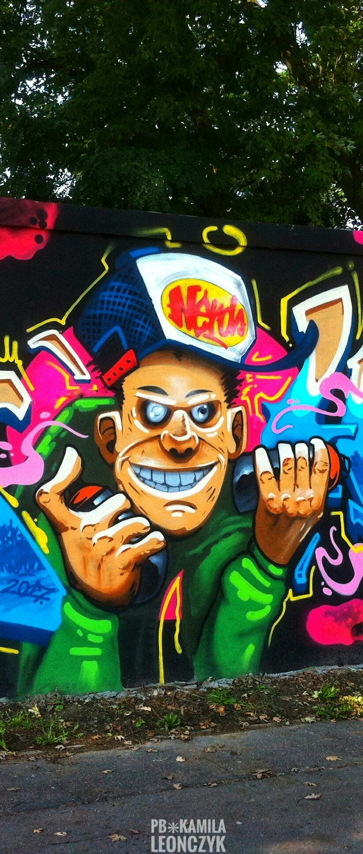 Street Art Warsaw Poland