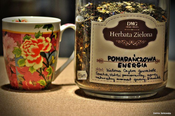 Zielona herbata herbata o soczystym połączeniu tropikalnych pomarańczy i gujawy! Skład: zielona herbata Ceylon, chińska Sencha, skórki pomarańczy, mango, płatki bławatka, naturalny aromat guawy! Czas parzenia:  1-3 minuty, 80-90°C #herbata #kawa #gdansk #gdynia #sopot