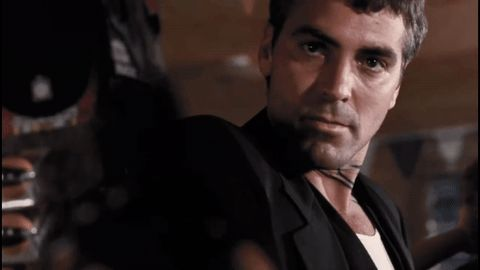 george clooney tarantino rodriguez from dusk till dawn be cool clooney gecko brothers everybody be cool #humor #hilarious #funny #lol #rofl #lmao #memes #cute