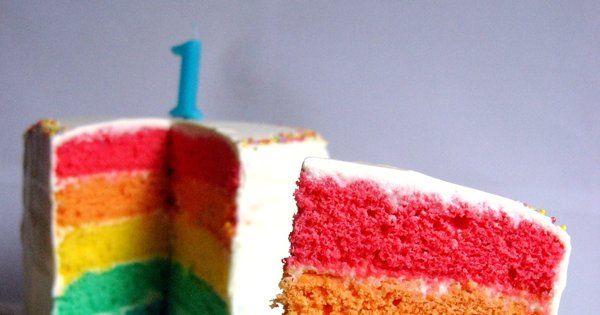 Ce qui attire le plus les tout petits, ce sont les couleurs vives. Imaginez quel sera son émerveillement lorsque vous couperez une part de ce Rainbow Cake chatoyant! Ici, le glaçage aux petits suisses remplace la crème au beurre afin de convenir au mieux au régime de bébé.