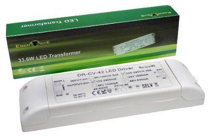 Dimmable 33.6W Transformateur / Driver pour MR16 MR11 GU5.3 LED Ampoule - pour les spots de la salle de bain
