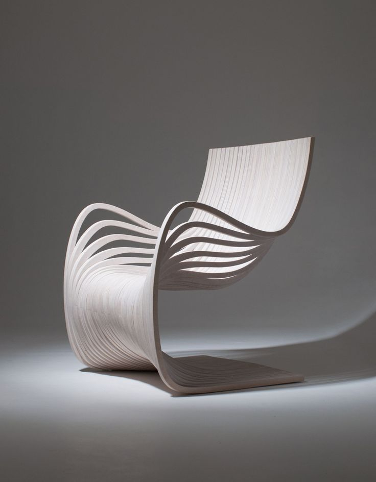"""Pipo Chair (laminated wood 3⁄4"""" thickness - matte polyurethane)"""