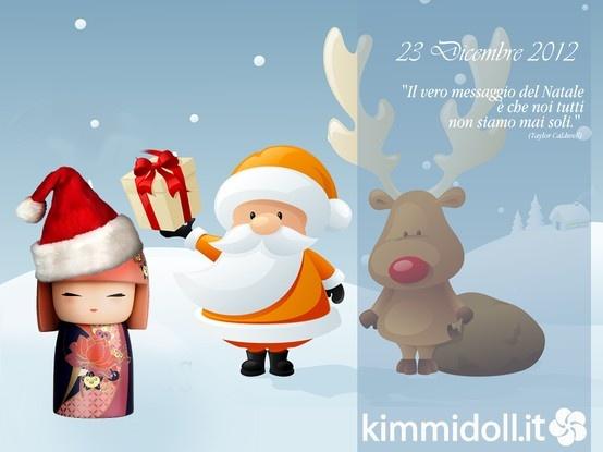 23 Dicembre 2012 #Kimmidoll #Christmas