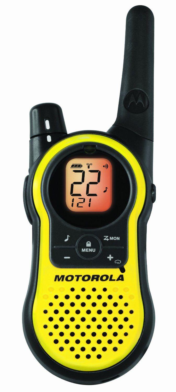 Motorola Walkie Talkie- 23 Mile Range 2-Way Radios, PAIR