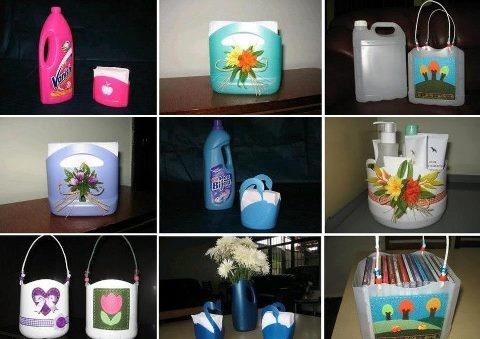 que faire avec les bidons et bouteilles plastiques d co maison jardin pinterest. Black Bedroom Furniture Sets. Home Design Ideas