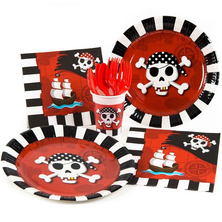 Thèmes d'anniversaire Pirate terreur - Annikids