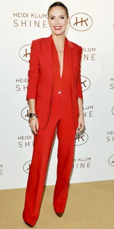Heidi Klum in Michael Kors.