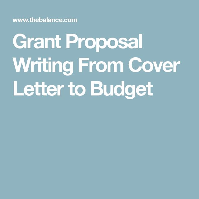 Best 25 Sample Proposal Letter Ideas On Pinterest Sample Of. Grant