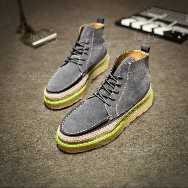 Yüksek Kaliteli Malzemelerden Üretim Moda Erkek Ayakkabı Modelleri - 571582 - 7