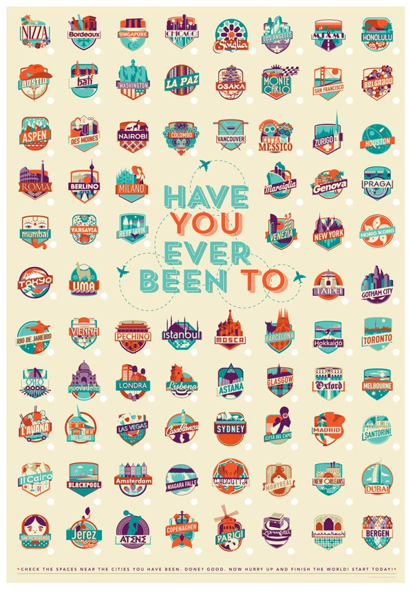 HAVE you EVER BEEN TO --- ✈ on Behance