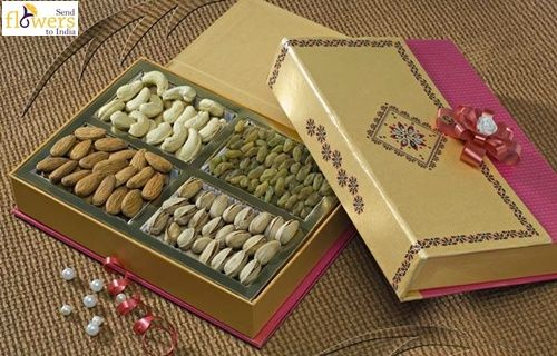 On this Diwali Send Dry Fruits to India with http://www.sendflowerstoindia.in/