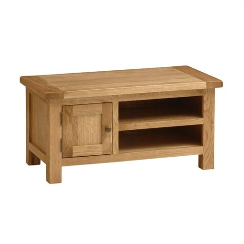 "Montague Select Oak TV Cabinet with 1 Door - up to 40"" (V888) with Free Delivery 