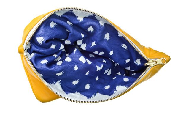 Adorable reversible clutch... 100% leather on one side, linen/cotton fabric on the other.  Completely reversible! Love!: Revere Leather, Reverse Clutches, Lattices Reverse, Reverse Leather, Lattices Revere, Leather Clutches, High Teas, Revere Clutches, Colour Next Dresses