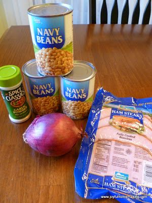 Some evenings are just very short on time as far as dinner goes, and I love keeping ingredients on hand for just such times when I need a fast substitute for my planned meal that may require more time than I have. This navy bean soup is perfect for those evenings. Ingredients: 3 15oz. cans …
