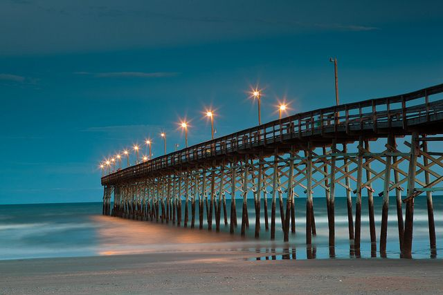 The pier at Ocean Isle Beach...going here for vacation with my hubby and our babies, next year!! Can't wait. Would go sooner but... it takes vacation time