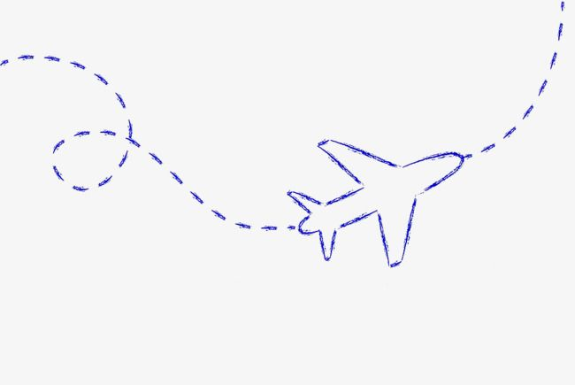 Blue Hand Drawn Aircraft Route Dotted Line Route Blue Png Transparent Clipart Image And Psd File For Free Download How To Draw Hands Clip Art Dotted Line