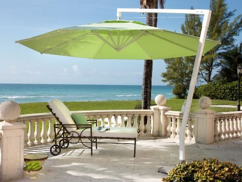 Зонт садовый для дачи и загородного дома