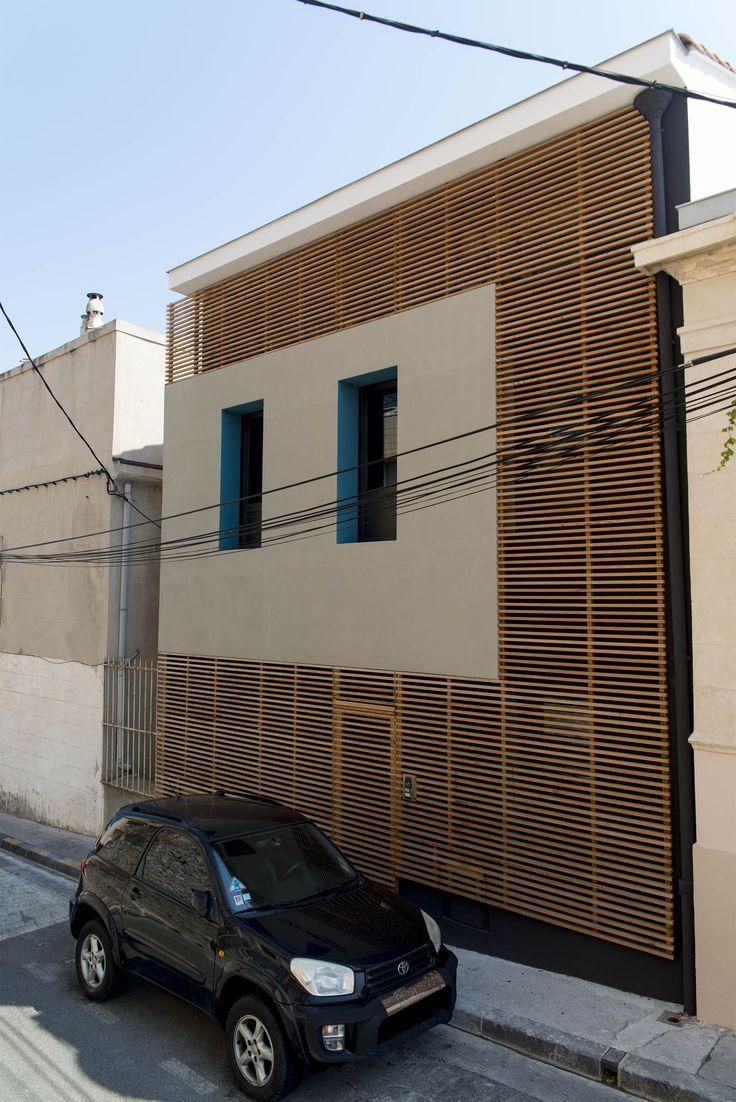 Maison de ville K ToGu Architecture Marseille Photography by Loïc JOURDAN  Bardage bois