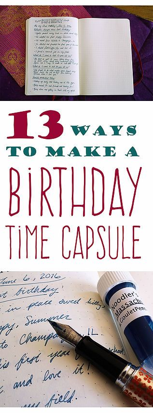 Everyone loves a birthday, right? Well why not make it extra special by including fun stuff for future you? See what I mean! Little Coffee Fox | Inspiration Through Organization