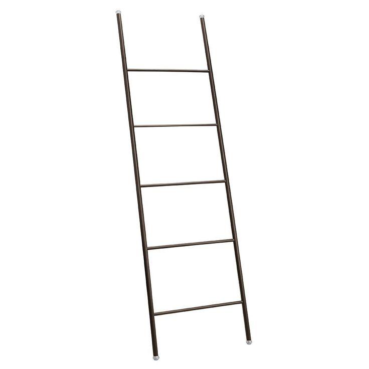 InterDesign Forma Towel Ladder, Matt Black: Amazon.co.uk: Kitchen & Home