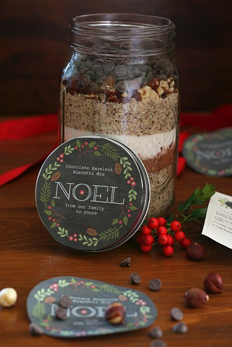 Chocolate Hazelnut Biscotti Mix in a Jar | Bob's Red Mill Low carb and gluten free