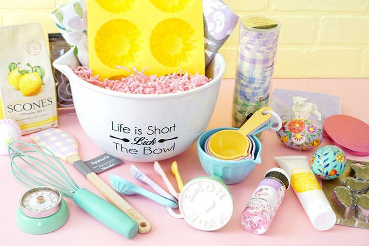 The 25 best baking gift baskets ideas on pinterest gift for Homemade baked goods gift basket ideas