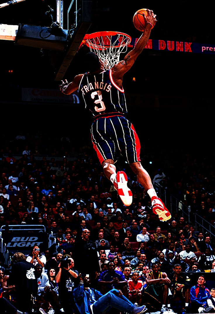 Steve Francis when you remember him you'll remember he was always a highlight waiting to happen