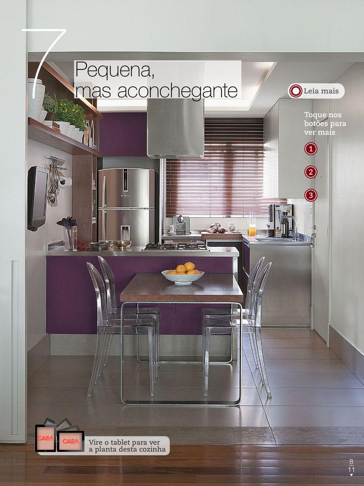 Foto casa claudia cozinhas pinterest for Interiores de cocinas