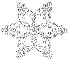 Tatted Ice Snowflake   Be-stitched