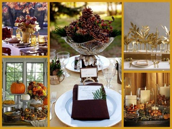 Herbst Tisch Deko-Apfel