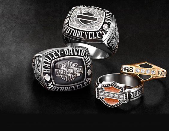 men harley davidson rings | Harley-Davidson® Custom Jewelry Collection