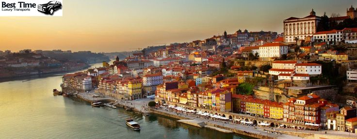 Fim de tarde no bairro da Ribeira - cidade do Porto